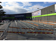 Historisk invigning i Barkarby fredagen den 23 september kl 07:00