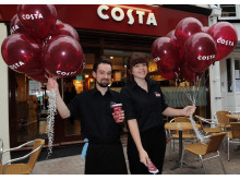 Costa Coffee Salisbury Re-opening