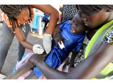 Vaccination mot lunginflammation i Etiopien