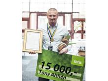 Årets plåtslagare 2015 - Tony Ahltén