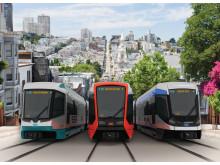 San Francisco beställer 175 spårvagnar från Siemens