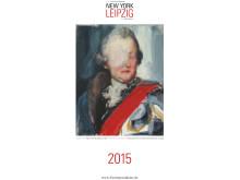 """Titelbild des Kunstkalenders """"New York meets Leipzig"""""""