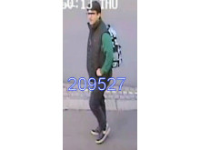 Image of man police wish to speak with - ref: 209527