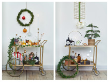 Julvagn klassisk och modern