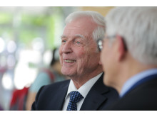 Harald zur Hausen. Innovationsworkshop am 5. und 6. Juni 2014 im DKFZ in Heidelberg