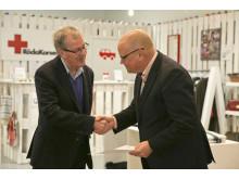 Röda Korset tackar Swedavia och Arlanda för ett givande samarbete
