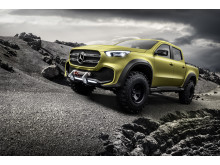 Mercedes-Benz Concept X-CLASS powerful adventurer