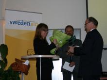 Prisutdelning av SwedenBIO Award