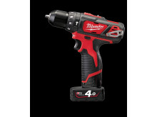 Milwaukee M12 BPD kompakt slagboremaskine  (4,0 Ah version)