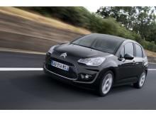 Nya Citroën C3 snett framifrån höger