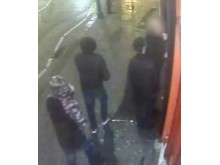 APPEAL: The two suspects just before the attack