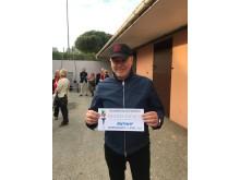 Timo Nurmos med Olympiatravsinbjudan till Readly Express