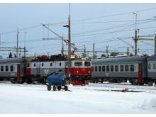 Intelligent lösning för underhåll ger säkrare järnvägstrafik
