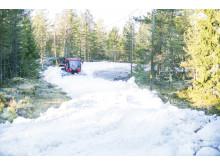 Snöläggning 2015