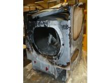 Brann i vaskemaskin