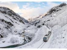 Opplev fantastisk ingeniørkunst på Flåmsbana om vinteren