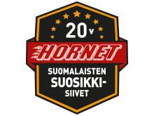 Atria Hornet 20v. juhla-logo