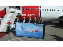 Norwegian mottar fly nummer 50