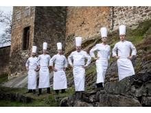 Norwegens Junioren-Nationalteam beim Culinary World Cup 2018 in Luxemburg