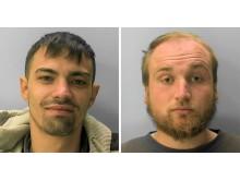 Eastbourne pair jailed for 45 months for drug dealing