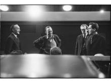 Ingmar Bergman under repetition av Rannsakningen, Dramaten 1966