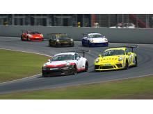 digitala replikor av mästerskapets gästbilar