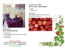 Recept: Drottningsmoothie & Äpple kub i kardemumma