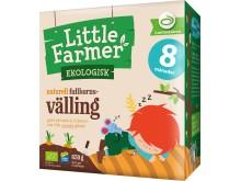 Little farmer ekologisk naturell fullkornsvälling