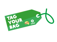 Tag for Oxfam Tag Your Bag