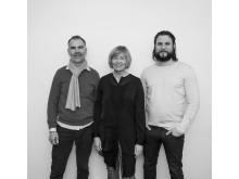 Ulf Sandberg, Erika Lundgren, Daniel Alinder