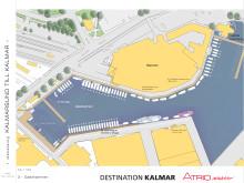 Kalmar Gästhamn, skiss