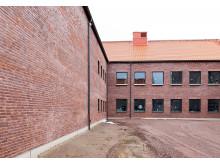 Nova taktegel på den nya rättspsykiatriska kliniken i Vadstena.