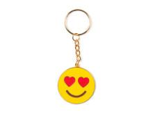 Emojinyckelring - In love