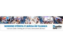 """Torsdag 26 mars kl 11.30 Tina Thörner föreläser om """"Navigera rätt och vinn"""" på Dustin Expo 2015"""