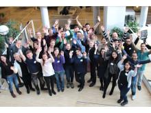 PhD-studenter på workshop for entreprenørskap