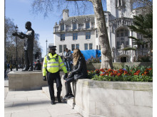 Officer in Parliament Square