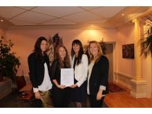 Moderna ledare i rörelse- Louise Lundquist, Joanna Hägg, Caroline Bouzi och Maria Dahlin