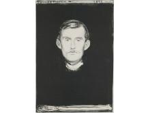 Edvard Munch: Selvportrett, 1895