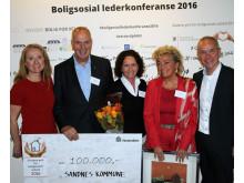 Statens pris for boligsosialt arbeid 2016