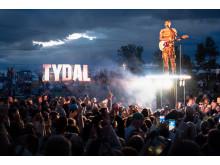 Sondre Justad på Tydalsfestivalen 2019.