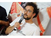 Aloys Vimard, Läkare Utan Gränsers projektkoordinator på Aquarius.