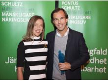 Lisen Schultz och Karl-Johan Persson