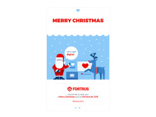 Merry Christmas and a Happy New Year from everyone at Fortrus.