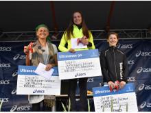 The ladies' podium Ultravasan 90 2018