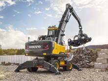 Volvo EW240E Materialhanterare - i återvinning