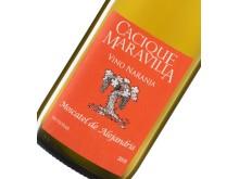 90653-01 Cacique Maravilla Vino Naranja etikettsbild