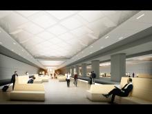 Visionsbild Station Korsvägen – plattform