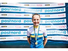 Julia Borgström, dubbel svensk juniormästarinna 2018