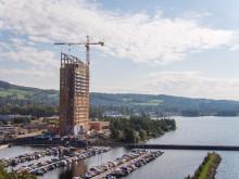 В Норвегии строится деревянный небоскреб