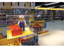 Scandlines frister med LEGO® produkter til BorderShop-prioser i sommerferien
